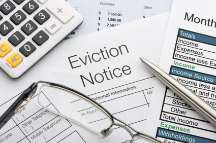 Notice to Evict for renovations document